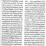 Article Le Bien Public UMP-Morel 260112