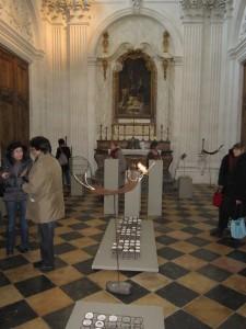Vernissage exposition O et E Vailly - Chapelle OT Dijon 150313 (3)
