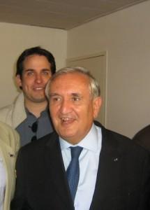 Avec Jean-Pierre RAFFARIN 170908