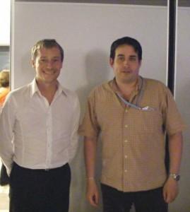 Avec Laurent HENART 290808