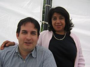 Avec Malika Gauthié, Présidente de La Gauche Moderne en Côte d'Or