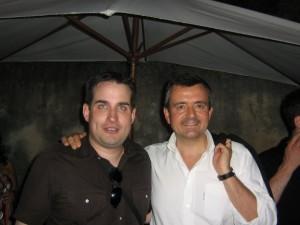 Avec Yves Jégo aux Universités d'été de Marseille en 2009