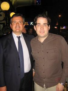 Avec Yves Jégo, le 030610 à Dijon