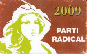 Carte PR 2009