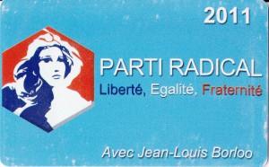 Carte PR 2011