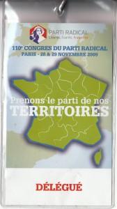 Congrès PR 2009