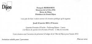 Invitation François REBSAMEN Budget 2012 120112