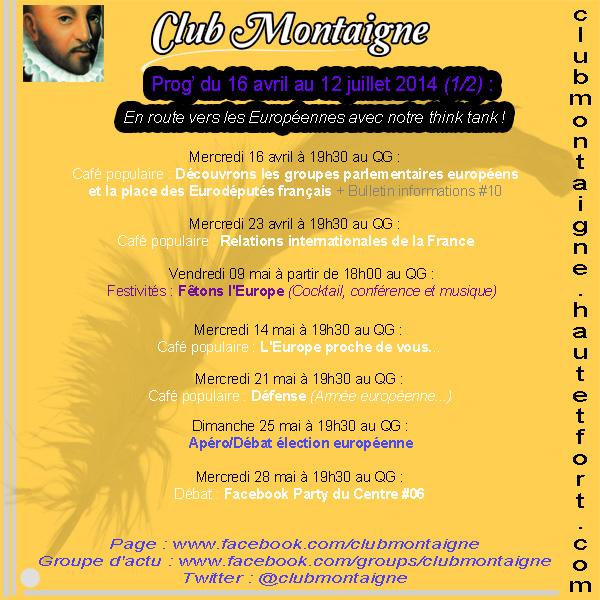 Prog Club Montaigne 2eme T 2014 - Web 1-2 160414