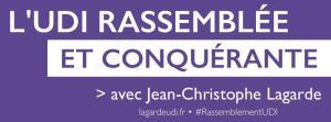 Bannière Campagne JCLagarde - Présidence UDI 10-11-2014