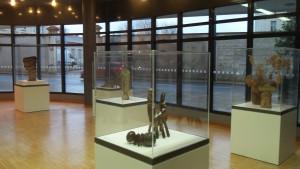 Exposition céramiques Jacqueline et Jean LERAT Mairie Bourges 280114 (1)