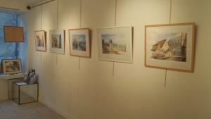 Exposition d'aquarelles Galerie du Phare 140315 (1)