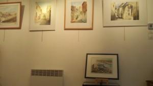 Exposition d'aquarelles Galerie du Phare 140315 (2)