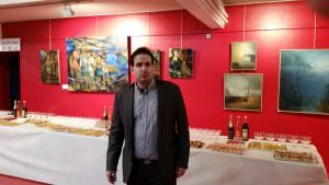 Vernissage Salon international Art et Peinture Palais Auron 030415 (2)