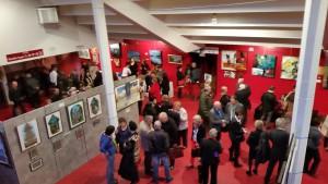Vernissage Salon international Art et Peinture Palais Auron 030415 (7)