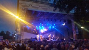 Concert Roy Thomson and the mellow kings Square Cardinal Lefebvre 150716 (1)