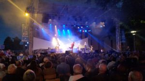 Concert Roy Thomson and the mellow kings Square Cardinal Lefebvre 150716 (6)