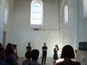 Vernissage exposition Anima Prieuré St Martin 150617 (1)