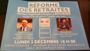 Atelier Réforme des Retraites EM Amphithéâtre Muséum 021219 (10)