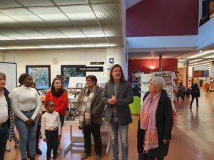Vernissage exposition Itinérances Médiathèque 271119 (2)