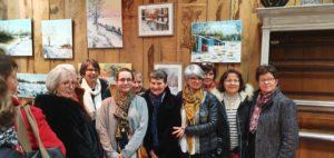 Vernissage exposition Les Poulin'Art Fleurs Campagne 100120 (22)