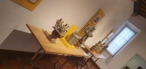 Exposition Sculptures en grès La Borne - Musée du Berry 030720 (7)